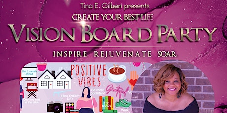 Create Your Best Life - Vision Board Party tickets