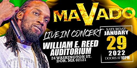 Mavado Live in Concert tickets
