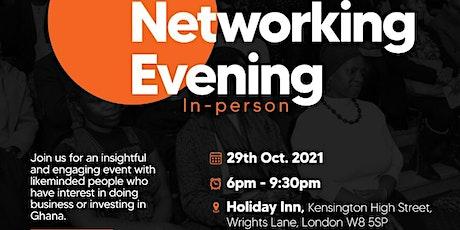 Ghana Networking Evening - Professionals & Entrepreneurs (London 29.10.21) tickets