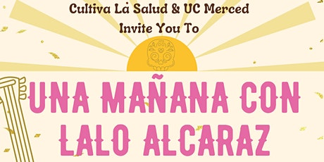 Una Manana Con Lalo Alcaraz/A Morning with Lalo Alcaraz tickets