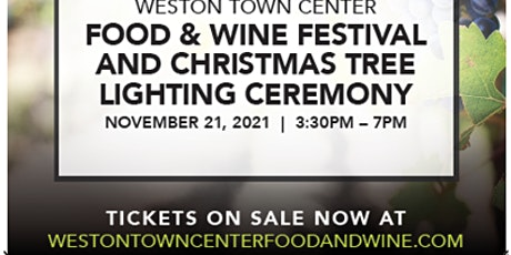 Annual Food and Wine Festival & Christmas Tree Lighting Ceremony tickets