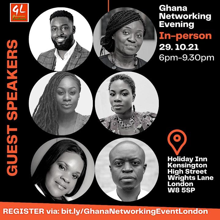 Ghana Networking Evening - Professionals & Entrepreneurs (London 29.10.21) image