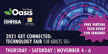 2021 Get Connected: Technology Fair for Adults 50+ tickets