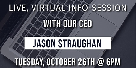 Codeup | Virtual Info Session with our CEO tickets