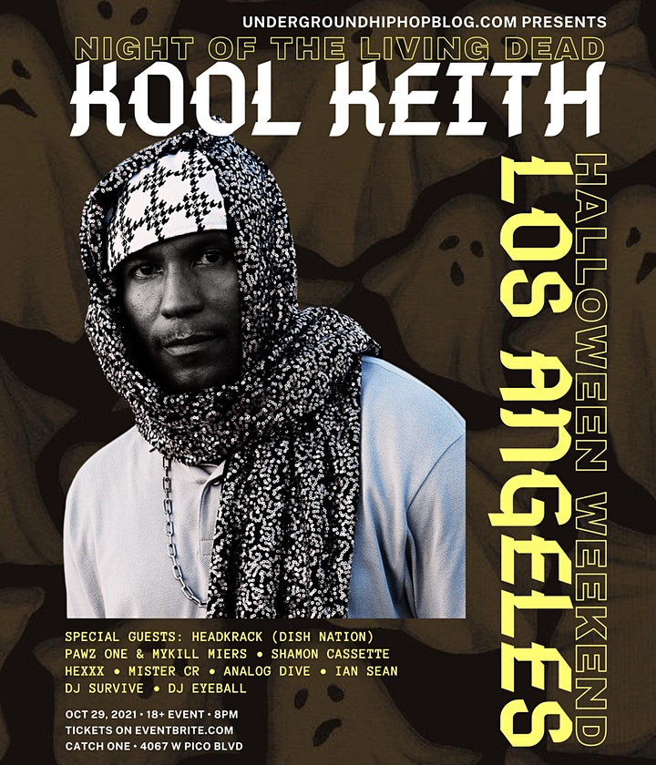 Kool Keith in Los Angeles (Night of the Living Dead) image