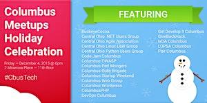 Columbus Meetups Holiday Celebration