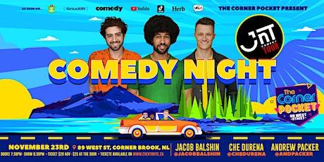 Comedy Night | JNT Comedy Tour @ The Corner Pocket tickets