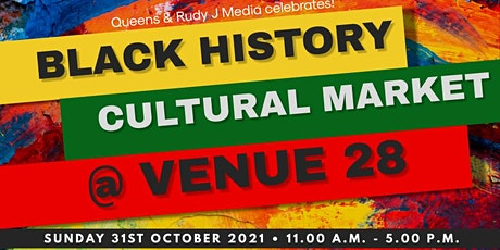 Queens & Rudy J Media -Black History Month Special Indoor Cultural  Market tickets
