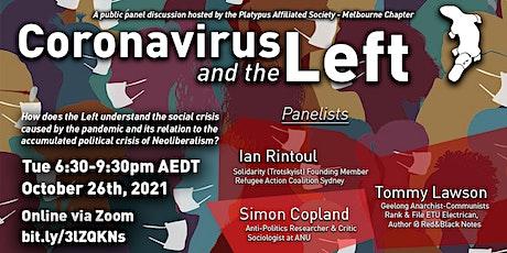 Panel Discussion: Coronavirus and the Left entradas