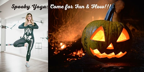 Spooky Yoga: Come for Fun & Flow!!! (CIOH) tickets
