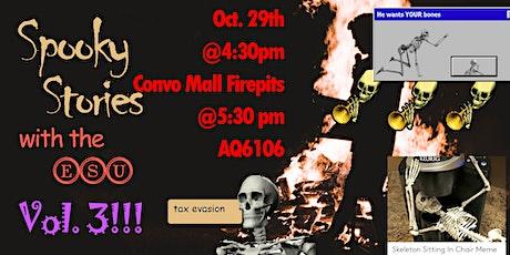 Spooky Stories with ESU tickets