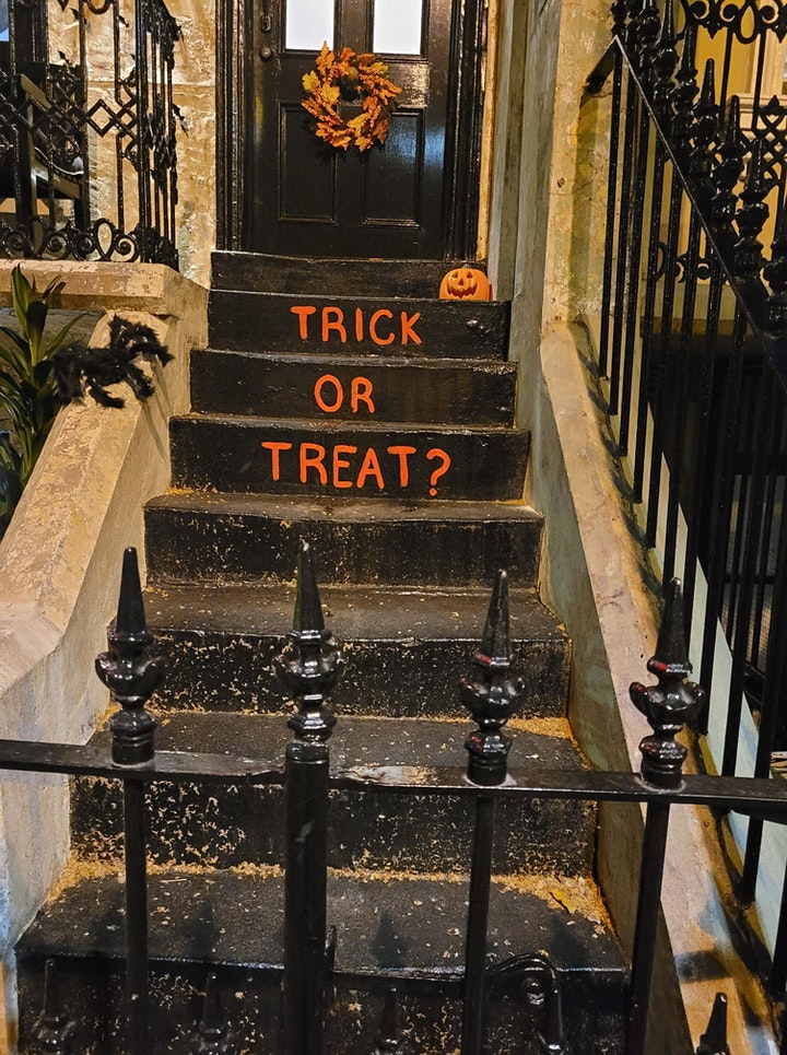 TRICK OR TREAT HALLOWEEN PARTY image