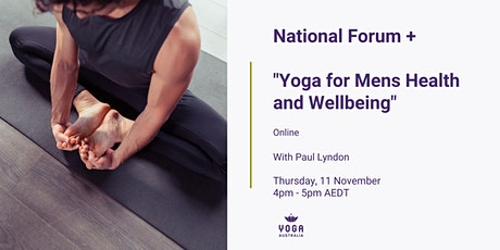 National Forum + Yoga for Mens Health and Wellbeing tickets