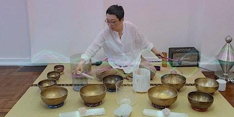Online Somatic & Singing Bowl Meditation  |  網上體感.頌缽聲頻浴療 tickets