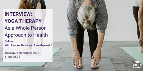 Yoga Therapy as a Whole Person Approach to Health tickets