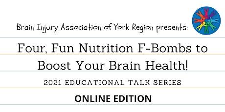 Four, Fun Nutrition F-Bombs - 2021 BIAYR Educational Talk Series tickets