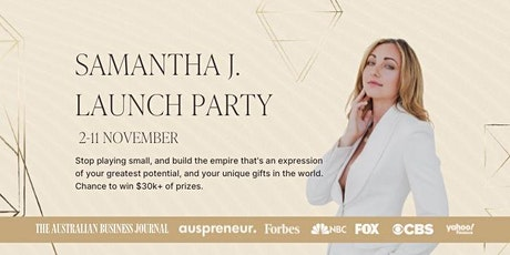 Samantha J Launch Party tickets