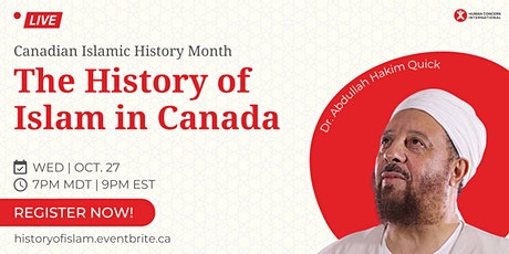 The History of Islam in Canada tickets
