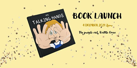 My talking hands book launch tickets