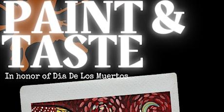 Paint & Taste tickets