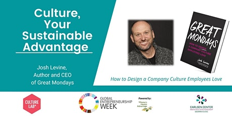 GEW: Building Company Culture Workshop with Josh Levine tickets