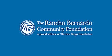 Rancho Bernardo Community Foundation 2021 Virtual Grants Celebration tickets