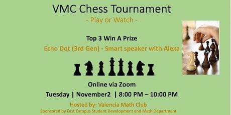 VMC Chess Tournament - Fall 2021 tickets
