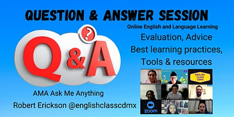 Free AMA question and answer Online. tickets