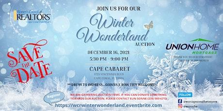 Winter Wonderland Auction tickets