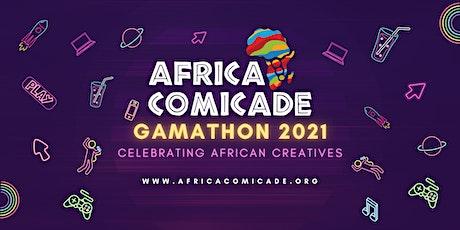 Africacomicade Gamathon 2021 tickets