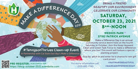 Oct. 2021 Neighborhood Clean-up Event (Same-Day Registration) tickets