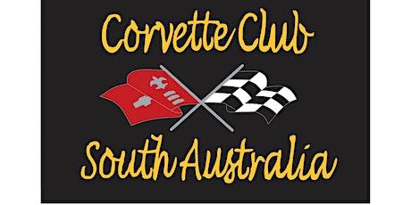 Corvette Club of South Australia General Meeting - 3rd November tickets
