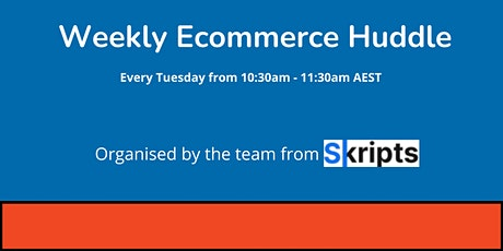 Ecommerce Zoom Catchup tickets