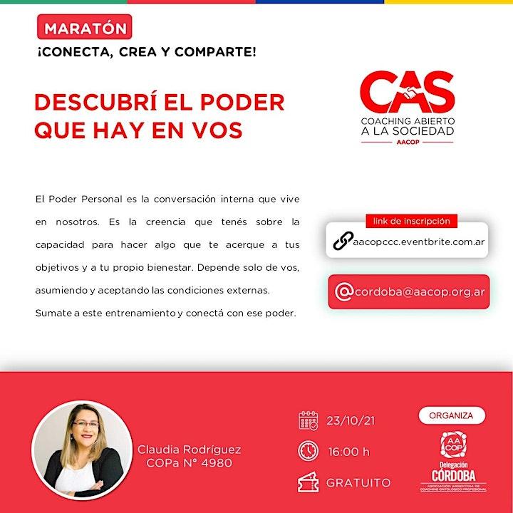 Imagen de ¡Conecta, Crea y Comparte! Entrenamientos de Coaching Ontológico