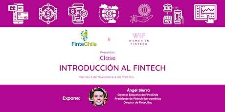 """Fintech 101: """"Introducción al FinTech"""" entradas"""