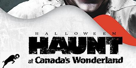 Canada's Wonderland Halloween Haunt 2021 tickets