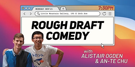 Rough Draft Comedy tickets