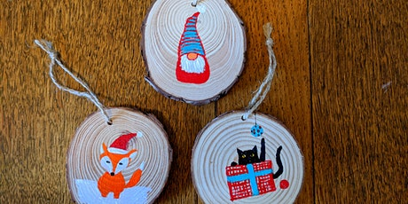Christmas Ornaments Paint Party for Adults and Kids 8+ tickets