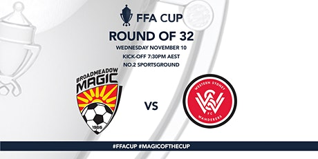 FFA CUP Round of 32- Broadmeadow MagicFC versus Western Sydney Wanderers FC tickets