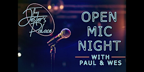 Open Mic Night at The Jester's Palace tickets