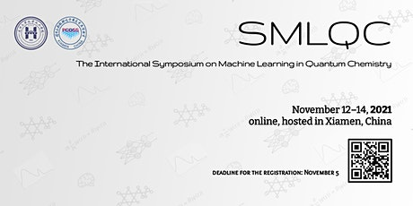 The International Symposium on Machine Learning in Quantum Chemistry tickets