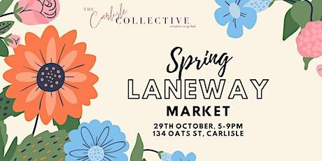 Spring Laneway Market tickets