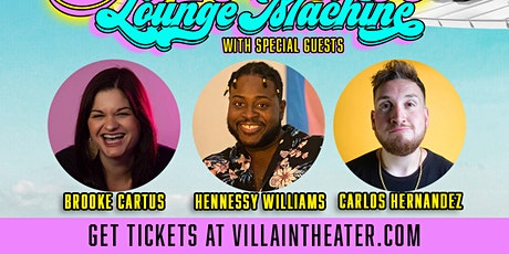 Miami Lounge Machine - Stand-Up Comedy Variety Show tickets