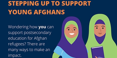 STEPPING UP TO SUPPORT YOUNG AFGHANS tickets