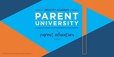 NeoCity Academy Parent U: AP Capstone entradas
