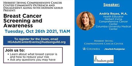 Breast Cancer Screening and Awareness Workshop tickets