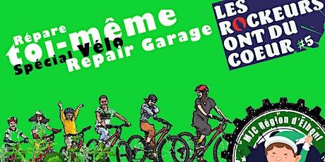 Atelier Repair Garage vélos : un vélo pour les rockeurs ont du coeur billets