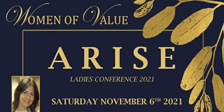"""Women Of Value Conference  """"Arise"""" tickets"""