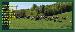 20th Anniversary VT Grazing and Livestock Conference