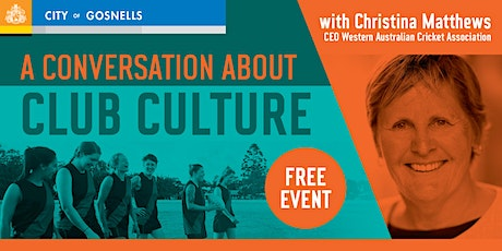 A conversation about club culture with Christina Matthews tickets